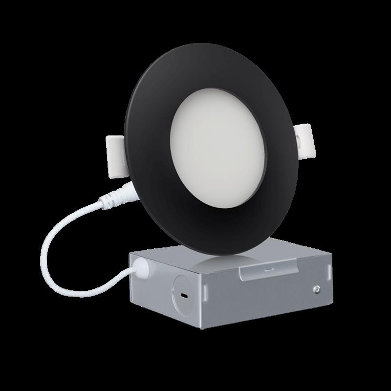 4 ECO Version Black Slim Downlight DIM 主图