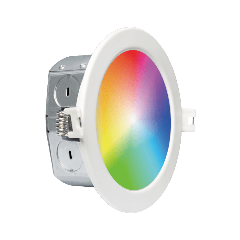4 Led Downlight with Integrated J Box WIFI RGBCW main