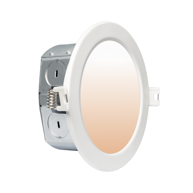 4 Led Downlight with Integrated J Box WIFI Tunable main
