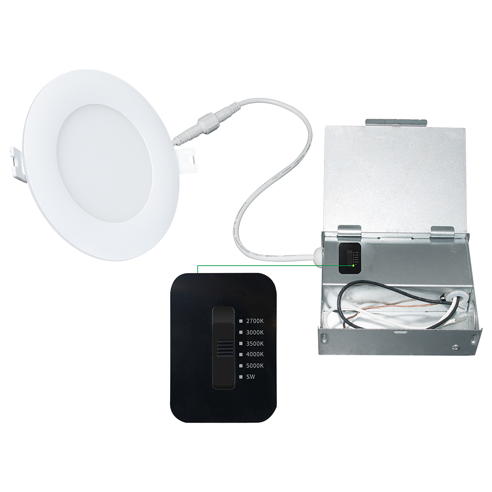 4 Pearl Series Slim Downlight 5CCT in 1 主图